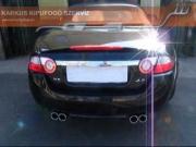 Jaguár XK 4.2 V8 Cabrio dupla csöves kipufogó hang