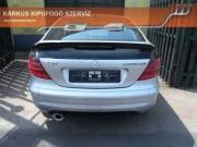 Mercedes Benz SLK C230 kompressor sportkipufogó szolíd hang