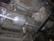 Ford Ranger 2.5 TD, Mazda B2500 �s BT50 tulajdonosok figyelem: ut�ngy�rtott kataliz�tor �s lop�s elleni v�delem a Karkus kipufog�n�l!