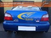 Subaru Impreza WRX STi sportkipufogó hang