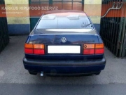 Volkswagen Vento 1.9 turbo diesel hátsó sportkipufogó közepes hangzással