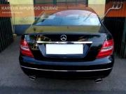 Mercedes W204 2.2 turbo diesel hátsó sportkipufogó dobok szolíd hangzással