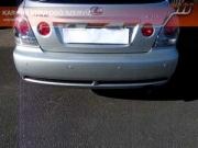 Lexus IS 200 elhasználódott gyári hátsó kipufogódob hang