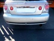 Lexus IS 200 új, utángyártott hátsó kipufogódob hang