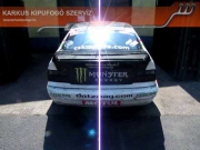BMW drift versenyautó sportkipufogó hang