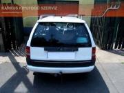 Opel Astra F 2.0i sportkipufogó hang