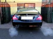 Mercedes Benz CLS 350 V6 halk sportkipufogó hang