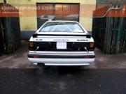 Audi Coupe Quattro Rallye versenyautó sportkipufogó hang