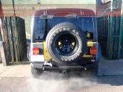 Jeep Wrangler 4.0L utángyártott halk kipufogó hang