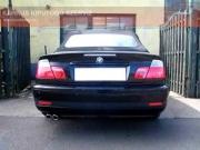 BMW E46 330i Cabrio sportkipufogó hang