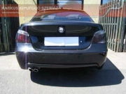 BMW E60 3.0 turbo diesel sportkipufogó hang